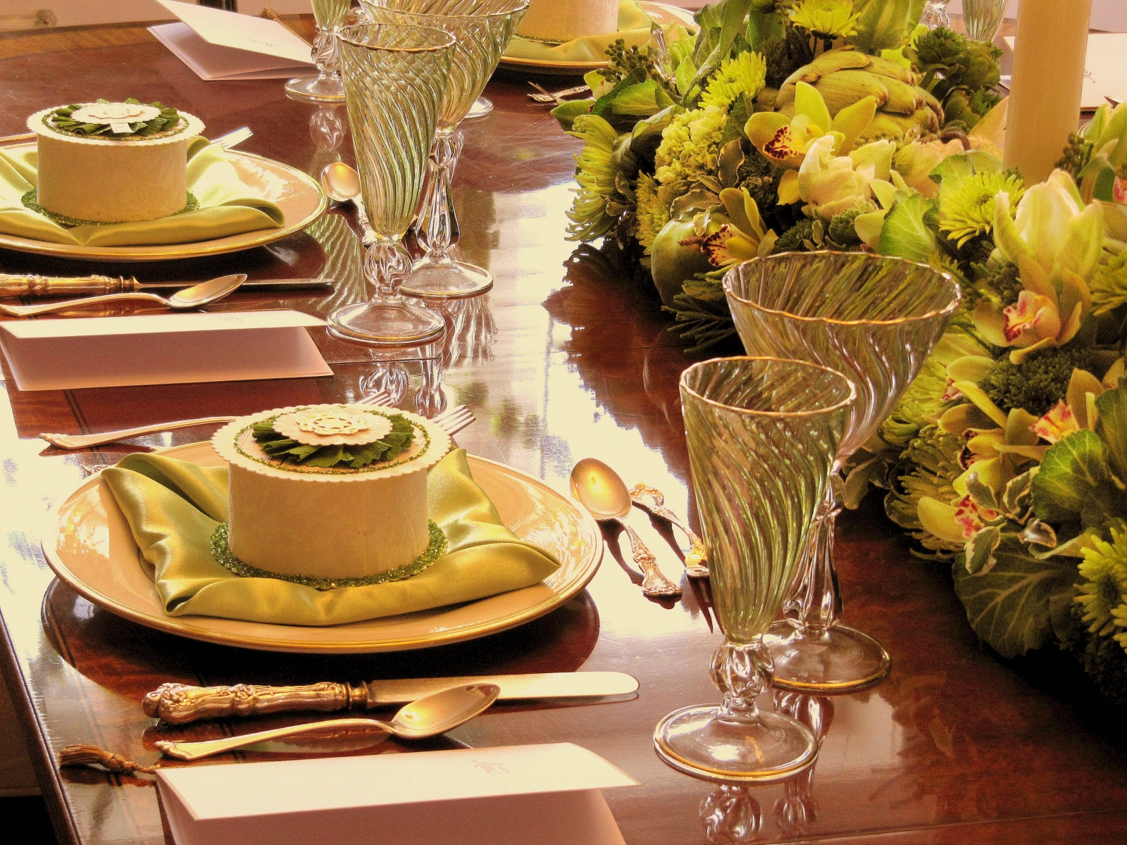 Green Themed Dinner 027