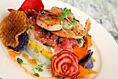 Tropical-Stacked-Salad-Entree