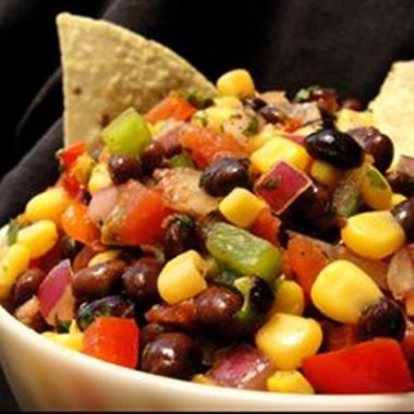 Black Bean Corn Salsa recipe Mezzaluna Cateringt